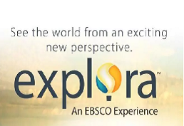 sunset captioned see the world from an exciting new perspective.  explora an EBSCO expernience.