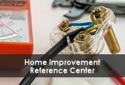 Electrical circuit and volt meter captioned Home Improvement Reference Center