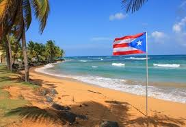 Puerto Rican beach photo