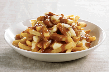 Fries with gravy pic