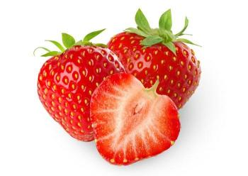 photo of 3 strawberries